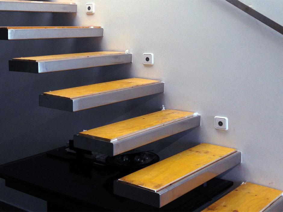 Fabricaci n de modernas escaleras de dise o para uso - Escaleras de diseno ...