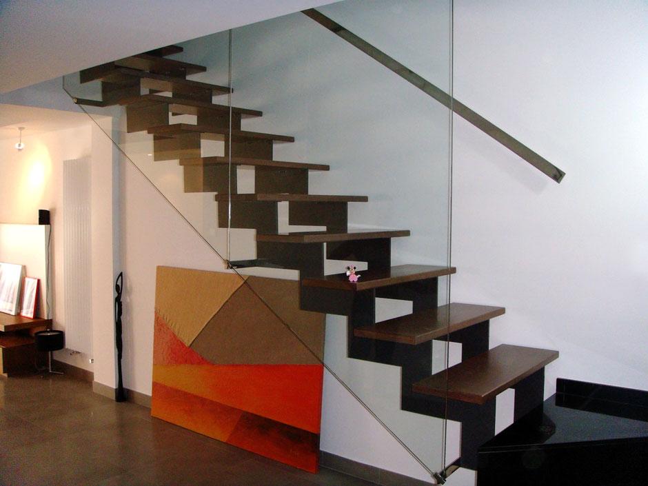 escalera para vivienda particular
